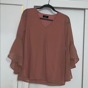 AGB blouse (new) but no tag in color Blush